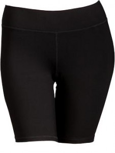 "Women's Plus Active by Old Navy Compression Shorts (9"") - Black Jack"