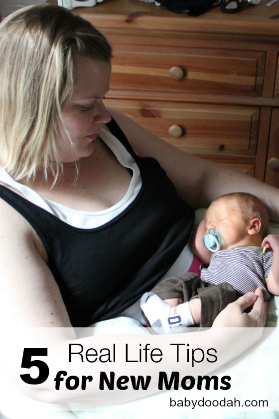 5 Real Life Tips for New Moms - Baby Doodah(1)