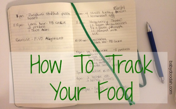 How to Track Your Food