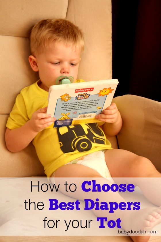 How to Choose the Best Diapers for your Tot4