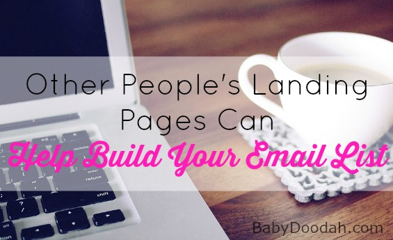 Grow Your Email List - Baby Doodah