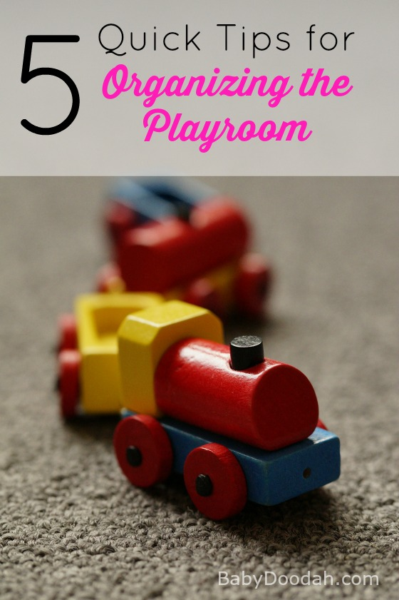 Quick Tips for Organizing the Playroom  Baby Doodah